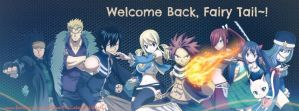 Welcome back Fairy Tail! by YellowKiiroitori