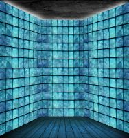 Glass Block Room by Unkn0wnfear