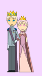 King Edmund and Queen Karena, Elena's Parents by blackblade94