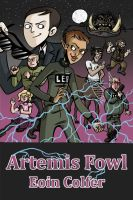 Artemis Fowl - cover by black-rider