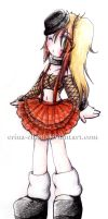 Gothic lolita's outfit by Erina-chan