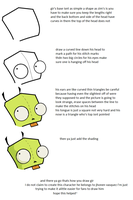 how to draw gir tutorial by ThePsychoSloth