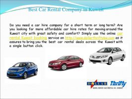 Car rental kuwait airport - Online Booking-page by dollarthriftykw