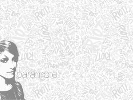 Hayley Williams of Paramore by plastichurts