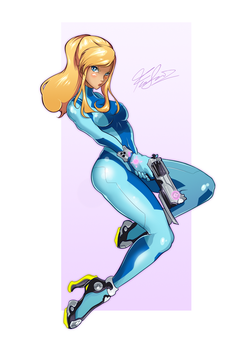 Zero Suit Samus by TirNaNogIndustries