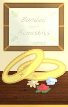 Bonded by Acoustics - Book Cover by TheDMCArts