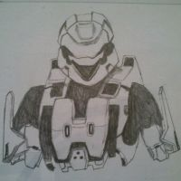 Halo 3 Scout Armour by SkyChow