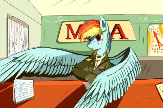 Old Photo-----MOA Rainbow Dash by LTH935