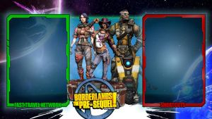 Borderlands the Pre-Sequel - Interface wallpaper by mentalmars