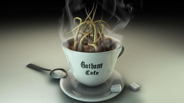 Gotham Cafe - Fanart by michalz00