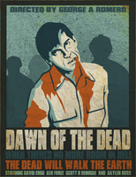 Dawn of the dead vector poster by SamRAW08