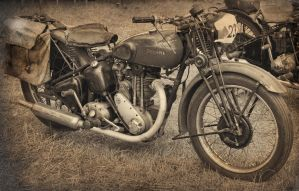 Triumph Motorcycle by Partists