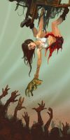 The Grabbing Dead by jhoneil