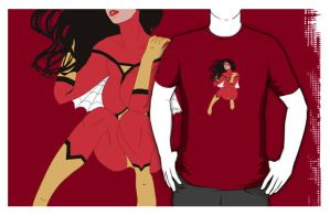 Good Spider Jessica - t-shirt by nillustore