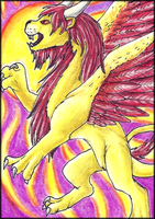 ACEO-Chase the Sun by Kiminuria