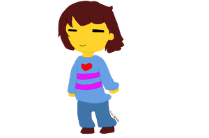 Frisk Gif Animation by ludmilabb2