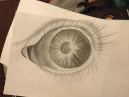 Eye - Pencil by AmieLouisePhotograph