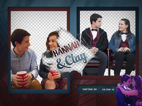 Hannah Baker and Clay Jensen by KotheCullen
