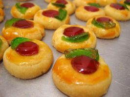 Strawberry Thumbprint Cookies by meechan