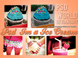 +Psd Im a Ice Cream by PSDWorld