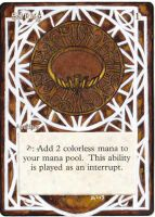 Magic Card Alteration: Sol Ring 8-29 by Ondal-the-Fool