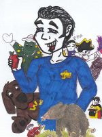 Anthony Wiggle and Wiggles by athello