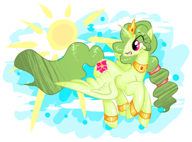 What a sunny day by theluckyangel