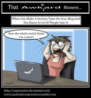 That Awkward Moment: Typos by Expression