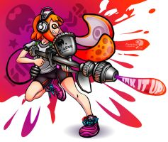 Inkling Girl by PaintingSymphony