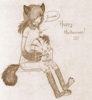 Happy Halloween o Peppermint by CuriousInferno
