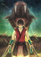 Second Son of the Kumo - Soramaru by tama-child