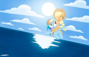Oceans - AppleDash Redux by WillisNinety-Six