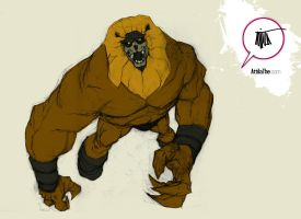 Ookla of Thundarr the Barbarian by 600poundgorilla