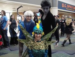 Megacon Tooth 2013 with Jack and Pitch by Artlyss
