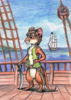 Dekabrist the marine mouse by DekabristMouse