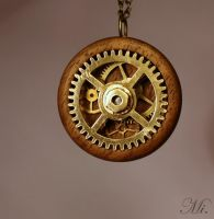Steampunk pendant 36 by TheCraftsman
