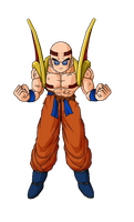Super Baby Krillin 1 by AltherandSlayer