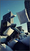 NYC pillow fight 2008 XVIII by Tenshi-Ayane