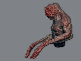 Zbrush test creature 02 ii by torvenius