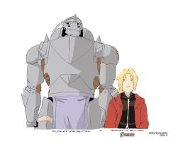 Full Metal Alchemist Brothers by Andy721