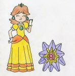 Daisy and Starmie by Mushroom-Cookie