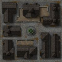 Mordheim Map 1: Town Square by Blazbaros