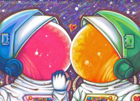 space love. by HatchetsForHands
