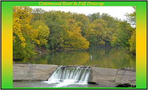 Cottonwood River in Fall Dress-up by Taures-15