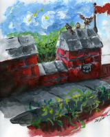 Ramparts of Redwall by DRD-1812