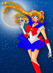 Classic Sailor Moon by chibialvin
