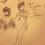 Yellow Submarine sketches by HystericalDoodle