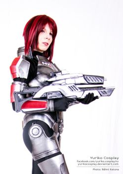Female shepard II. by YurikoSeira