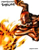 StreetFighter IV  Dhalsim by hollowcorpse