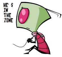 PlayStation Zim by FourBadQuans